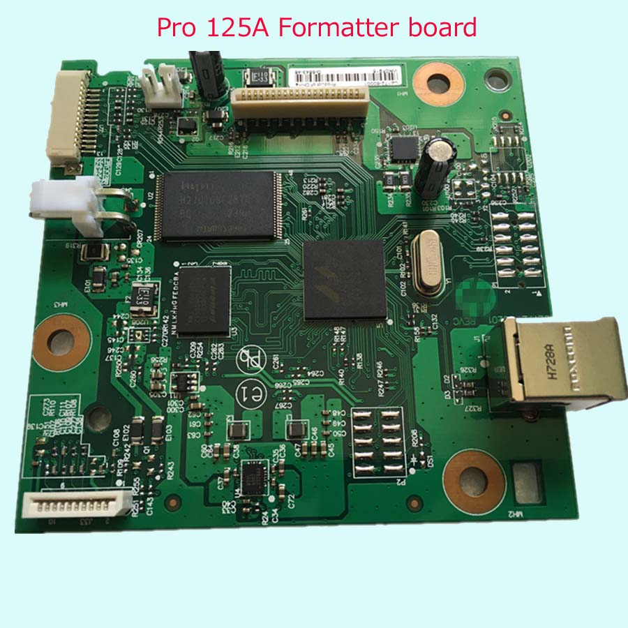Free shippping 90% New Original CZ172-60001 formatter board for HP LaserJet M126A M126 M125A M125 Mainboard/ Formatter Board