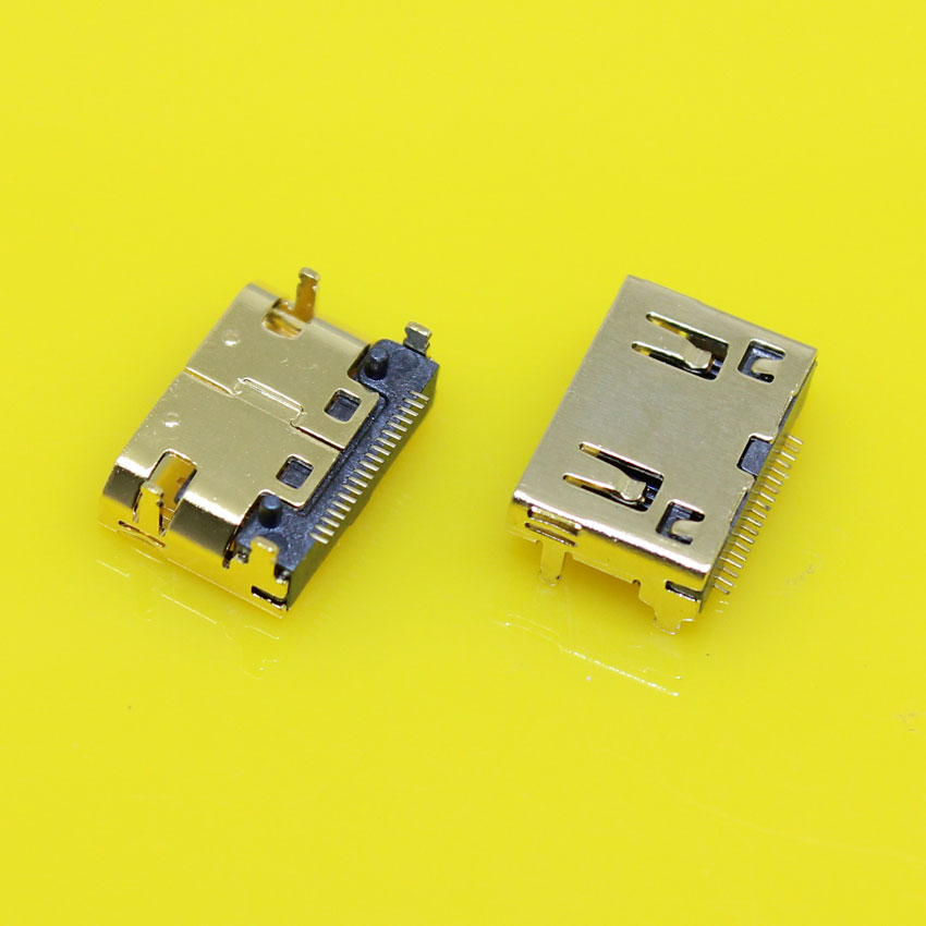 HD-016 Gold-plating HDMI Female Jack Socket 19pin Connector,MINI HDMI Data Port