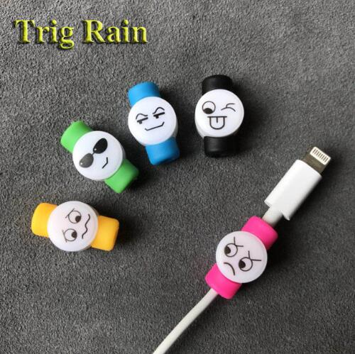 HTB1L1qDcIyYBuNkSnfoq6AWgVXaT Spiral Cable protector Data Line Silicone Bobbin winder Protective For iphone Samsung Android USB Charging earphone Case Cover