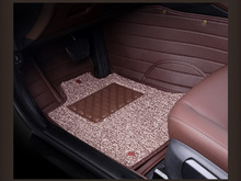 Automóvil tapetes alfombras conjunto almohadilla de cuero para MITSUBISHI lancer ex V3 / 5 / 6 Pajero Sport Outlander V73 V77 Grandis EVO IX dx 7 CC