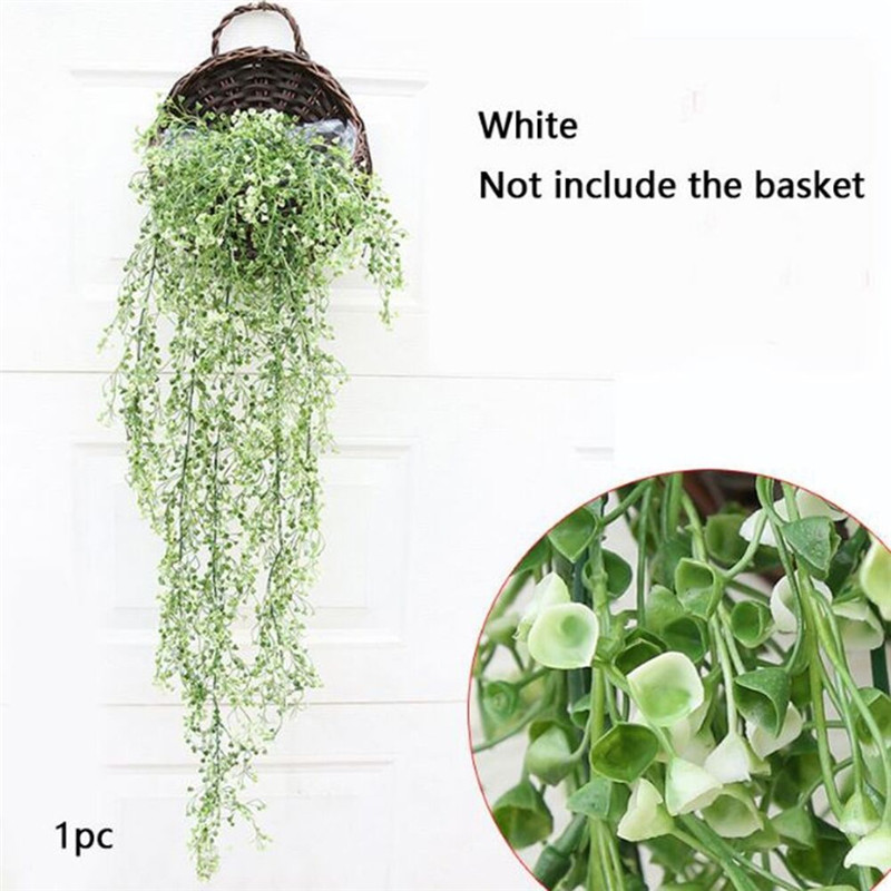Artificial Hanging Ivy Vine Garland Plants Vine Plastic Party Supplies Fake Foliage Leaf Wisteria Home DIY Decoration