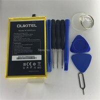 100 Original Battery OUKITEL K10000 Pro Battery 10000mAh 5 5inch MTK6750T Disassemble Tool High Capacit Mobile
