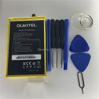 100 Original Battery OUKITEL K10000 Pro Battery 10000mAh 5 5inch MTK6750T Disassemble Tool High Capacit Mobile
