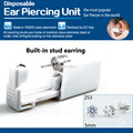 DHL&EMS Freeship 30pc/Lot Sterilized Disposable Ear Piercing Gun w/t Crystal Diamond Earring Stud NEW for body piercing kit