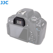 JJC Vizör lastiği vizör Canon EOS EOS 77D/100D/200D/1100D/650D/600D/550D /500D/1200D/760D/750D, /700D/T5i/T6i/T6s değiştirir Ef