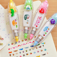 1 Pcs Kids Cute Drawing Toy Pen Decorative Correction Tape Lace For Key Tags Sign Students