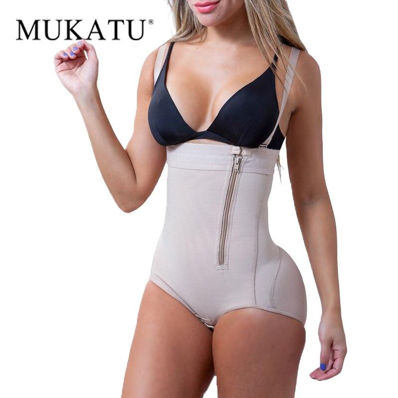 Plus Size Látex das Mulheres Shaper Do Corpo de Emagrecimento Cueca Pós-lipoaspiração Cinto Clipe Bodysuit Cintura Shaper Shapewear Reductoras