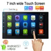 KKmoon 2 Din HD Touch Screen Car Stereo Radio Player GPS Navigation Multimedia Entertainment System WiFi