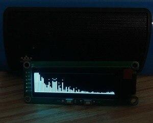 """Image 2 - GHXAMP 2 дюймовый OLED музыкальный спектральный Модуль Индикатор уровня VU Meter автомобильный компьютер модификации MP3 DVD MP4 MP5 Телефон """"сделай сам"""" время 5 в постоянного тока"""
