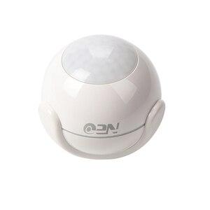 Image 4 - Tuya 스마트 라이프 WiFi PIR 적외선 모션 센서 알람 탐지기 무선 슈퍼 미니 모양 PIR 센서 감지기 홈 알람 시스템