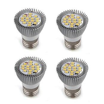 цена на LED Globe Bulbs 4 x Bombilla lamp E27 16 LED 5630 SMD 6W Foco Luz warm white AC 110V-240V  Free shipping Blanco