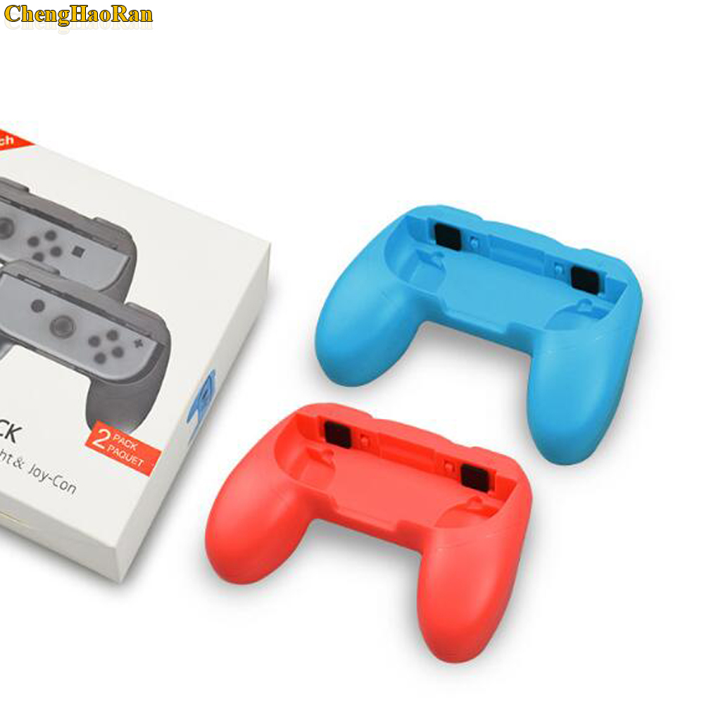 Image 2 - 2pcs Wear Resistant Joy con Handle Holder Grips for Nintend Switch NS Joy Con Console ( without joycons )-in Replacement Parts & Accessories from Consumer Electronics