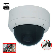 Onvif 1080p 2MP hd 130 degree wide angle lens security ip fisheye CCTV camera