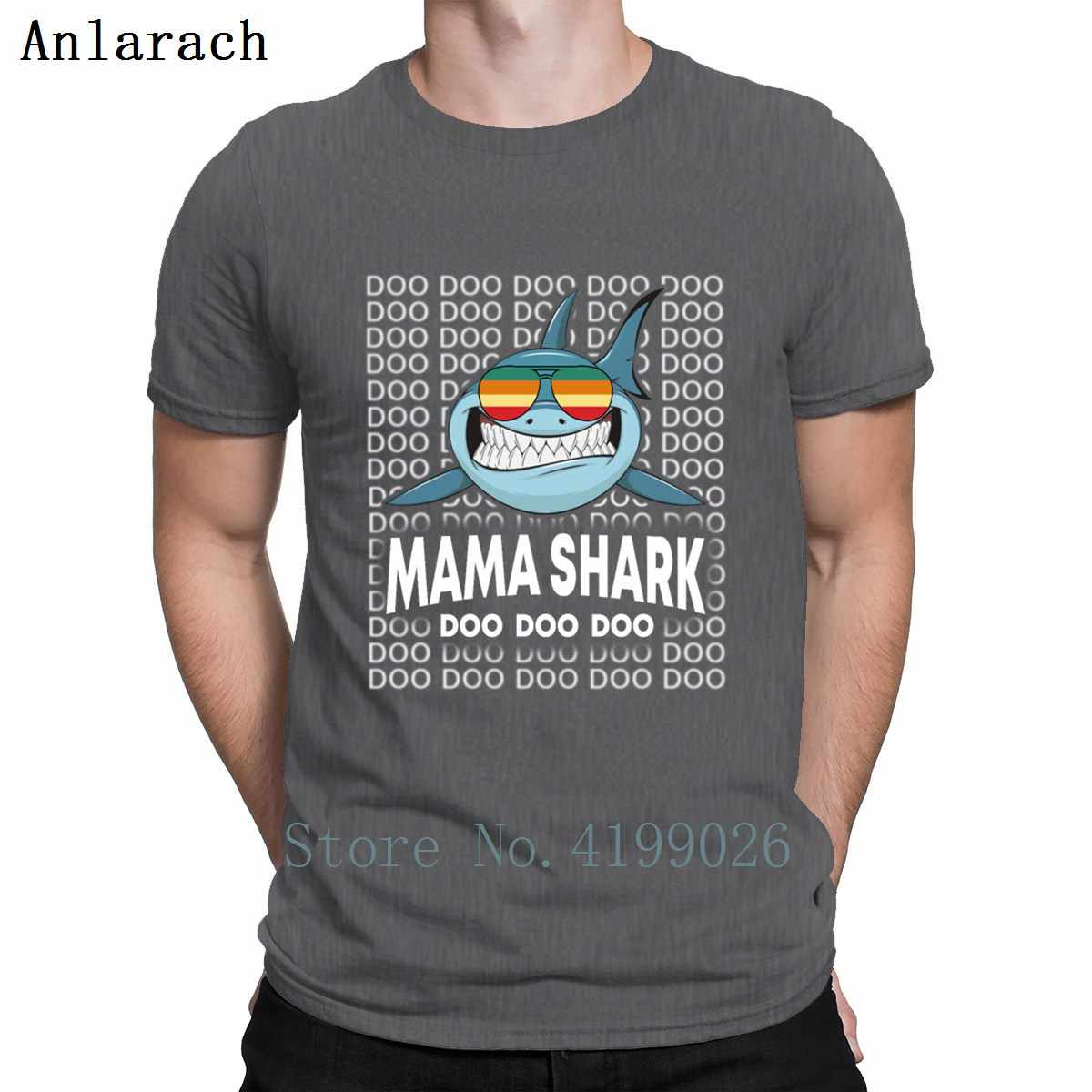 Custom T Shirt Family ALP ... Mama Shark Baby Mommy Daddy Matching Family Shark T Shirt Hiphop Top  Spring 2019 Customize New