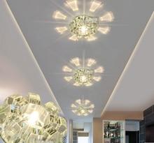 2016 коридор проходу потолочный светильник гостиная освещение кристаллический светильник CRYSTAL LED хрустальные потолочные светильники свет прихожей ZZY9
