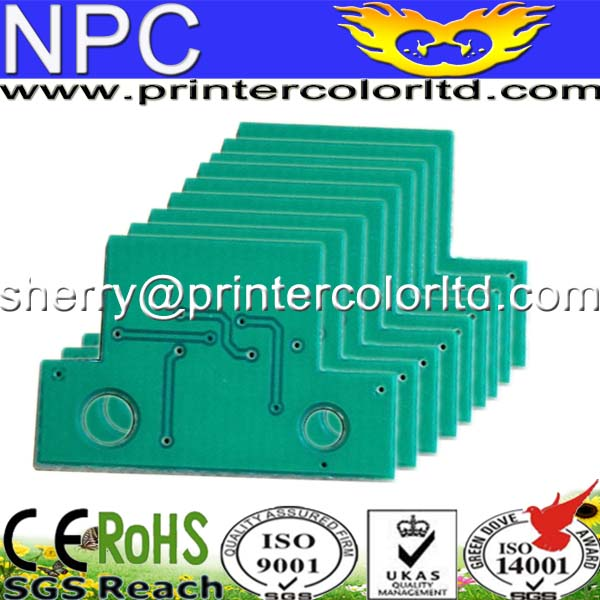 Chips for Lexmark CX310dn toner chip (KCMY/set) chip for lexmark multi functional printer chip for lexmark c734 dw chip low yield refill digital copier chips free shipping