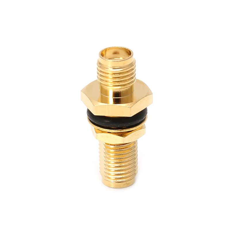 SMA Female Jack RF Connector Straight Coaxial Converter Adapter Panel Mount