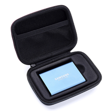 2019 New Hard EVA Shockproof Carrying Case for Samsung T5 / T3 / T1 Portable SSD 250GB 500GB 1TB 2TB USB 3.1 Type C Hard Drive