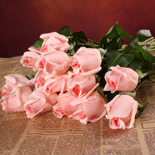 20 unids/set Rose Flores Artificiales de Seda de Flores Ramo De La Boda Home Party Latex Real Touch Flores Floral Flores de Diseño de flores