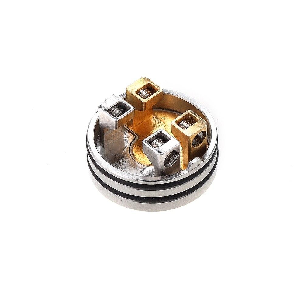 Original Hellvape Drop Dead BF RDA 14 Airflow Holes with Resin Driptip Single/Dual Coil Builds for Squonkor Mod Vs Dead Rabbit