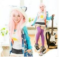 Anime super sonic cosplay kostüm partisi dress