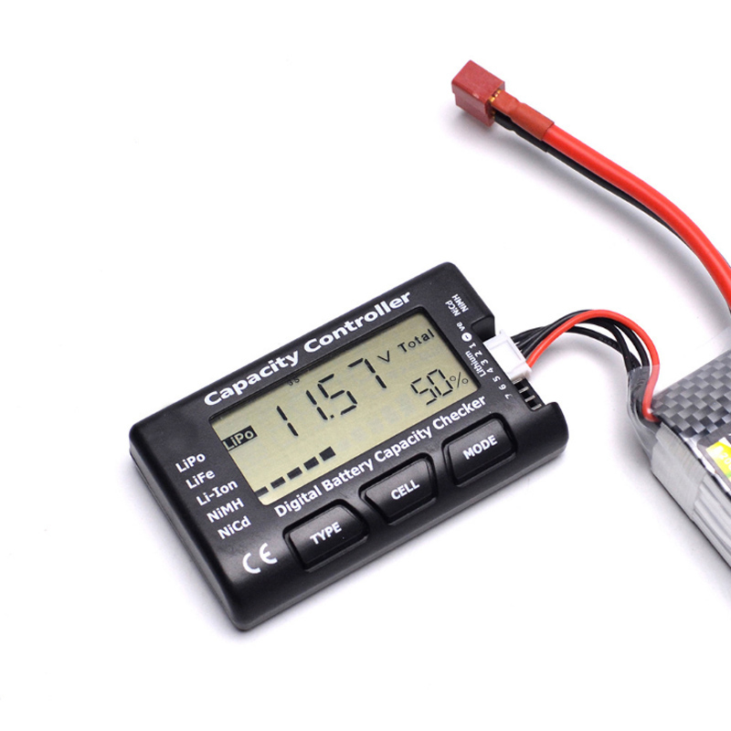 Hot Sale Digital Battery Capacity Checker RC CellMeter 7