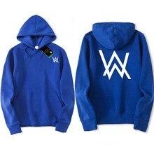 Hip Hop Streetwear Alan Walker DJ Hoodies High Quality Hooded Sweatshirt Men & Women Hoodie Casual Loose Brand Clothing