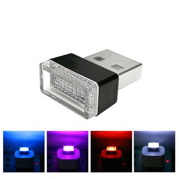 LED Car Interior Atmosphere light Accessories Sticker For BMW X5 X3 X6 E46 E39 E38 E90 E60 E36 F30 F30 E34 F10 F20 E92 E38 E91 image