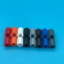 20Pcs/lot TECHNIC PART 32034 Technic Axle and Pin Connector Angled #2-180 Degree Parts No.32034 Assembles Particles Toys