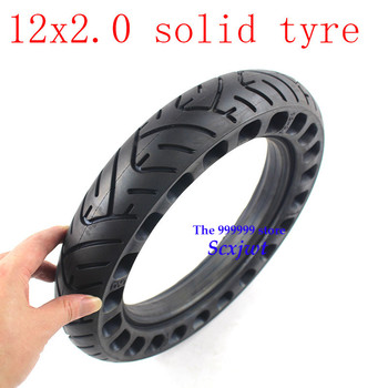 Envío Gratis 12 rueda sólida de pulgada neumático Wtih buena reputación 12x2.0for muchos gas scooter e-bike Hoverboard auto equilibrio piezas