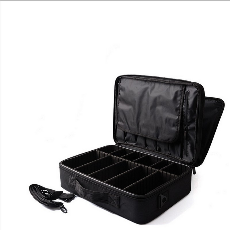 Women Multilayer Professional Makeup Bag Travel Portable Cosmetic Box Storage Case Ladies Large Capacity Suitcase spark storage bag portable carrying case storage box for spark drone accessories can put remote control battery and other parts