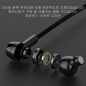 Image 5 - Baseus S06 Bluetooth Oortelefoon Magnetische Draadloze Oortjes Nekband Oordopjes Sport Stereo Oortelefoon Voor Telefoon Headset Met Microfoon