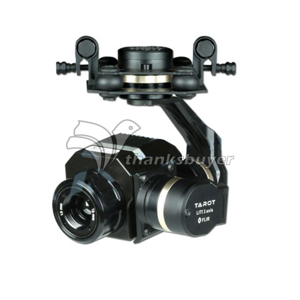 Tarot FLIR VUE PRO Gimbal Camera Stabilizer 3 Axis for RC Drone Quadcopter tarot metal efficient flir thermal imaging gimbal camera 3 axis cnc gimbal for flir vue pro 320 640pro tl03flir
