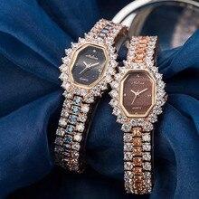 Melissa Women Luxury Rhinestones Jewelry Watches Fashion Vin