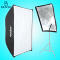 Paraguas softbox Godox Softbox Portable 50*70 cm tela para Speedlight flash Reflector Paraguas de Alta calidad