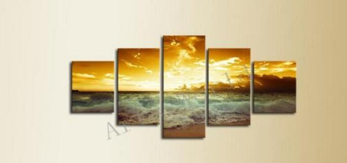Online Buy Wholesale landscape oil paintings sale from China