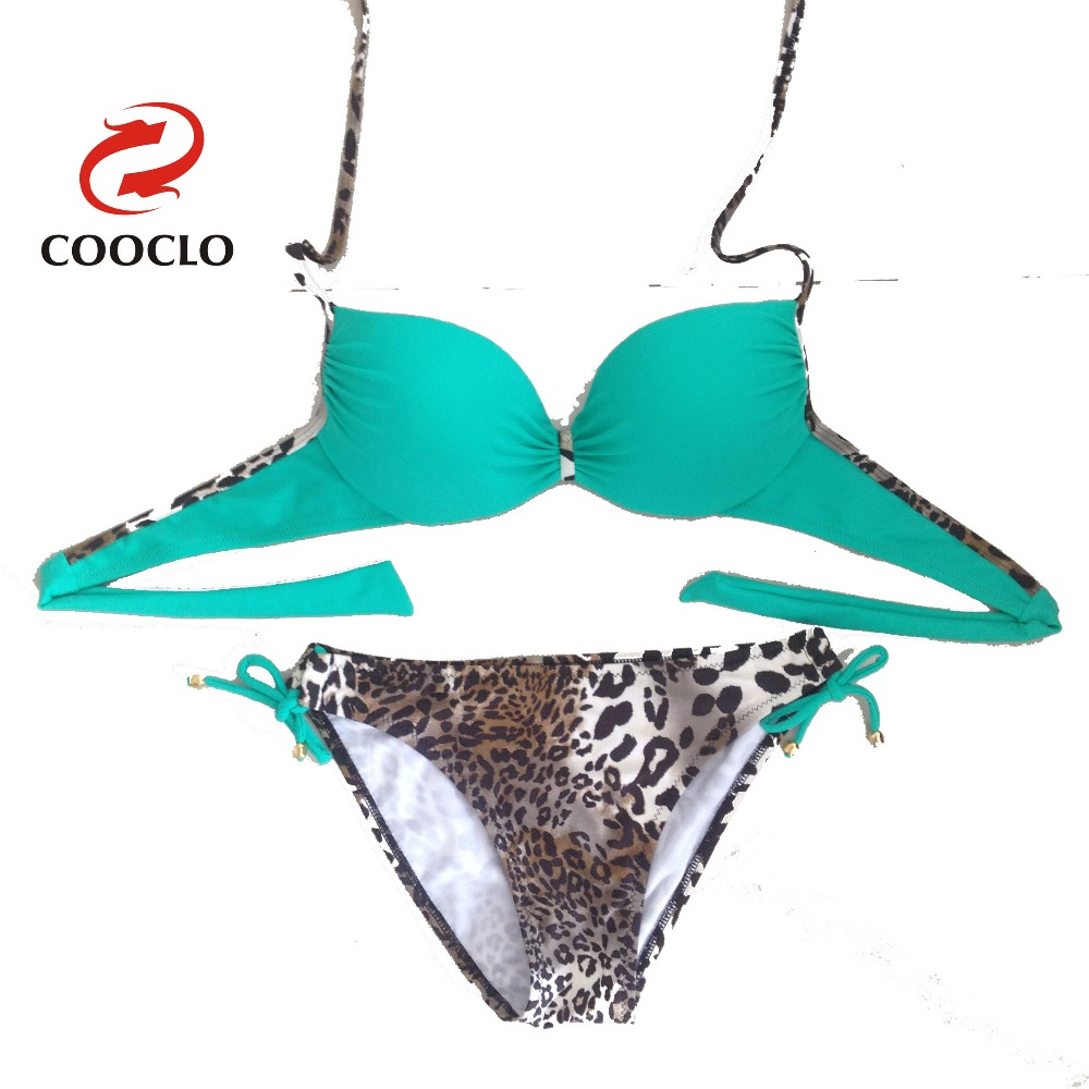 novel style wide range Sales promotion US $20.99 |Neon fast shipping bikini set swimsuit girl bathing suit leopard  bottom top with underwire oem cheap swim-in Bikinis Set from Sports & ...
