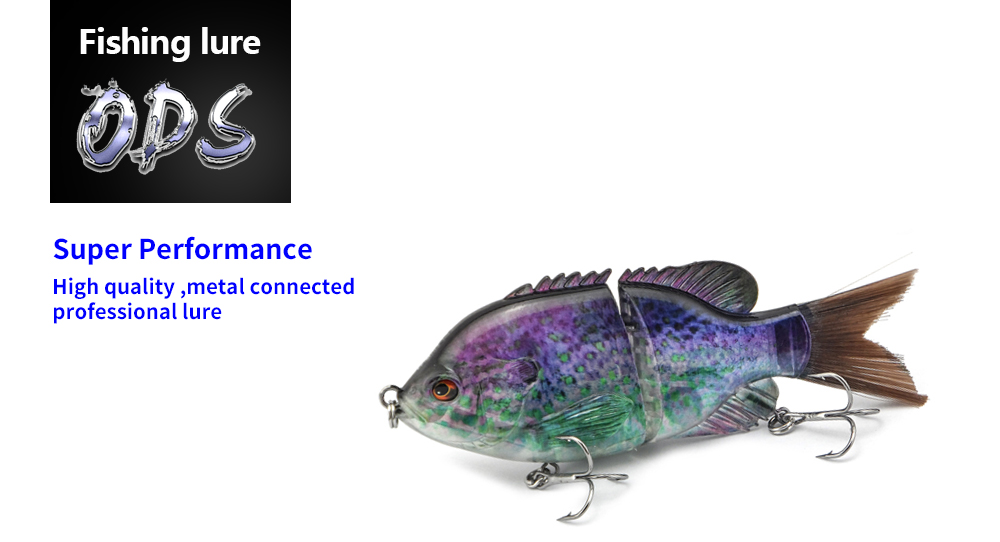 140MM Bionic Swimming Lure Suitable For All Kinds Of Jointed Bait Multi Fish