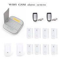 Free shiping WIFI GSM alarm Wireless Alarm System Accessories for WiFi GSM Smart Home Burglar Alarm System