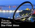 Premium Original Zomei 58mm Professional Star Filter 6 Line Point 6PT for Canon Eos Nikon Sony Pentax Olympus DSLR Camera Lens