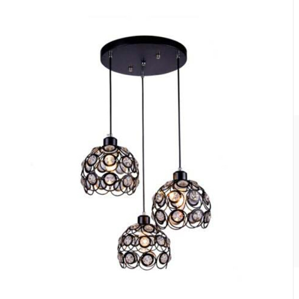 Modern Minimalist Restaurant Chandelier Crystal Chandeliers Three Head Personalized Dining Table Bedroom Bar art Lamp 120cm play mat baby blanket inflant game play mats carpet child toy climb mat indoor developing rug crawling rug carpet blanket