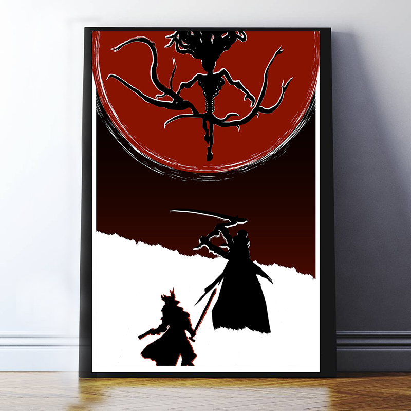 HD Blood Poster Borne Master William Mansis Lawrence Germain Mei Gao Figure Game Canvas Paintings For Living Room Home Decor
