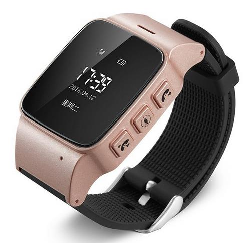 2017 Elderly GPS Tracker smart watch Android Smart Google Map SOS GSM GPS LBS Wifi Safety Anti-Lost Locator Watch