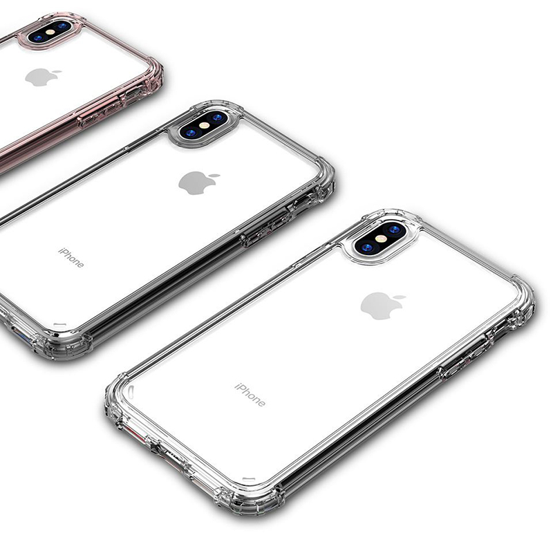 Transparent Shockproof Case for iPhone SE (2020) 18