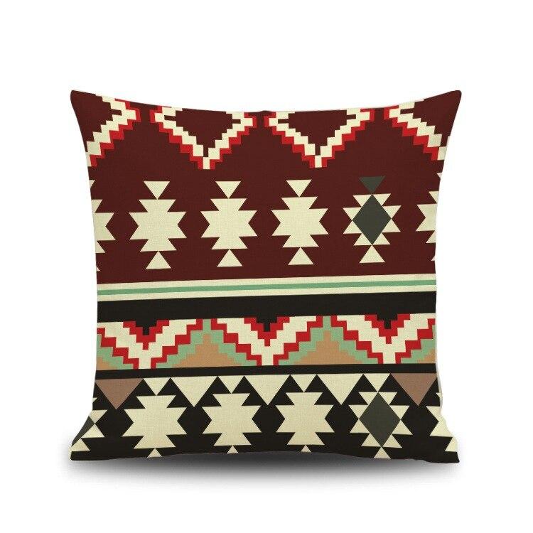 Wholesalefolk стиль геометрические узоры, наволочка и офиса диван-кресло Чехлы 18x18 дюймов almofadas