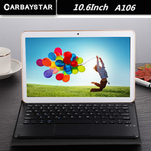 CARBAYSTAR 10.6 pouce A106 MT8392 Octa Core Ram 2 GB Rom 64 GB 1.5 GHz Android 5.1 tablet android Smart Tablet PC ordinateur portable Grosse batterie