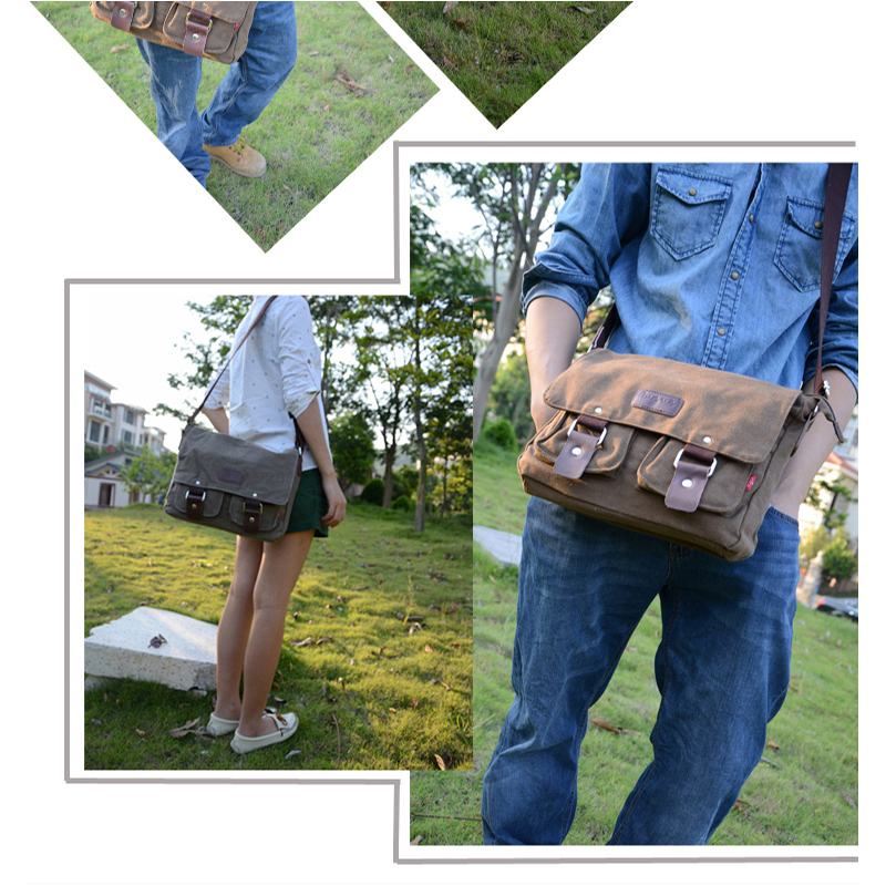 AUGUR 2018 Canvas Messenger Bag Male Shoulder Crossbody Bags Casual  Travelling One Side Bag For Men Vintage Bag High Quality on Aliexpress.com   a7f1659a75e0a