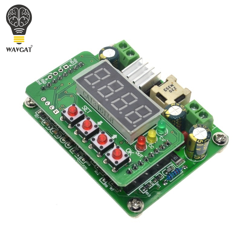 WAVGAT B3603 NC DC Power Supply Adjustable Step-Down Module Voltage Ammeter 36V3A108W Charger Smart Electronics