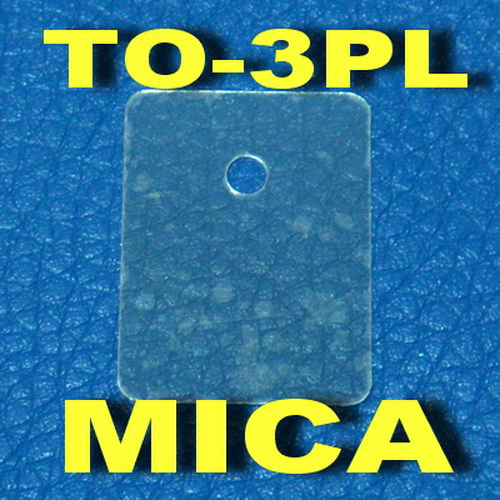 ( 50 Pcs/lot ) TO-3PL Transistor Mica Insulator,Insulation Sheet.