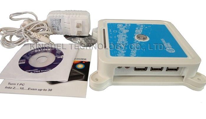 KINGDEL WIN7/VISTA Net Computer, Mini PC Share Wifi With 3 USB 2.0, 32 Bit,  Microphone, WIN CE 6.0 OS